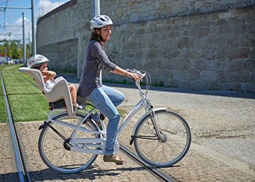 Prophete Bambini Bilby RS per Bicicletta Seggiolino per Bambini, Nero, M - 8