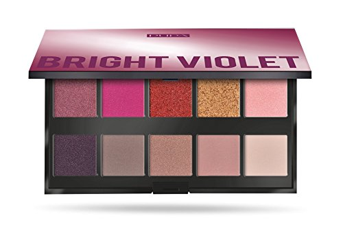 Pupa Make Up Stories Palette 10 Ombretti Bright Violet 003 - 1