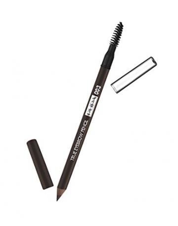 Pupa Milanotrue matita per sopracciglia–totale fill matita per sopracciglia a lunga durata–impermeabile, marrone scuro 1.0g - 1
