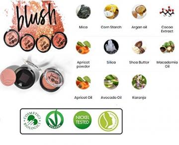 PUROBIO - Blush Biologico n. 05 - Watermelon - Pigmentazione Elevata, Texture Sfumabile e Modulabile, Lunga Tenuta - Vegan & Nickel tested - 3,5 gr - 2