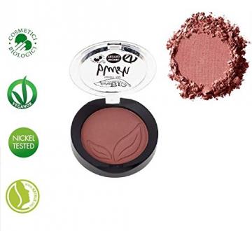 PUROBIO - Blush Biologico n. 05 - Watermelon - Pigmentazione Elevata, Texture Sfumabile e Modulabile, Lunga Tenuta - Vegan & Nickel tested - 3,5 gr - 1
