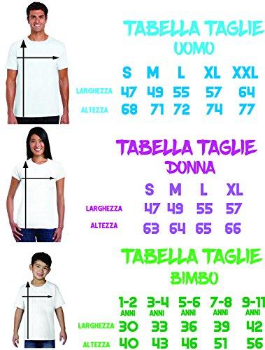 Puzzletee Tris T-Shirt Famiglia Madre, Padre, Figlio Mr, Mrs, Jr. - Mister - Miss - Junior - Festa del Papa' - Festa della Mamma - Magliette Divertenti per Tutta la Famiglia - in Cotone by - 1