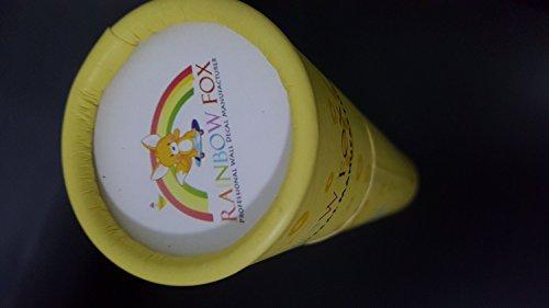 Rainbow Fox Albero Fiore Colorato Simpatici Gufi Leone Cervo Adesivi Murali, Camera dei Bambini Vivai Adesivi da Parete Removibili/Stickers Murali/Decorazione Murale - 1