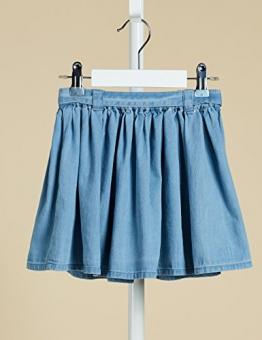 RED WAGON Gonna di Jeans con Cintura Bambina, Blu (Blue), 152 (Taglia Produttore: 12 Anni) - 1