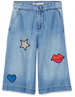 RED WAGON Jeans Bambina con Patches, Blu (Blue), 104 (Taglia Produttore: 4 Anni) - 1