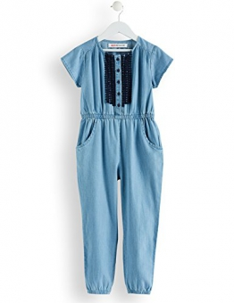 RED WAGON Maxi Tuta di Jeans Bambina, Blu (Blue), 116 (Taglia Produttore: 6 Anni) - 1