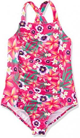 RED WAGON Multifloral SwimsuitNuoto Bambina, Rosa (Pink), 110 (Taglia Produttore: 5 Anni) - 1
