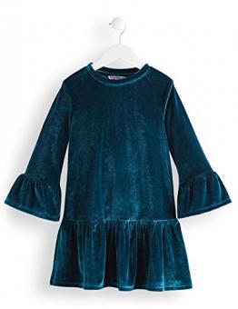 RED WAGON Velvet Vestito Bambina, Blu (Teal), 104 (Taglia Produttore: 4) - 1