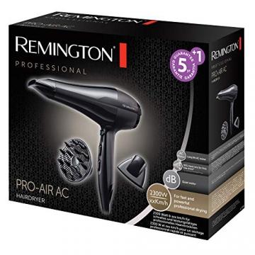 Remington Asciugacapelli Professionale Pro-Air AC, Diffusore, 2300W, Nero, AC5999 - 2