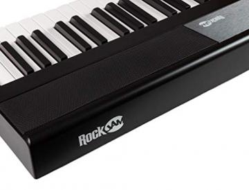 RockJam RJ88DP 88-Key Beginner Pianoforte Digitale/Tastiera con Tasti Semi-Pesati a Grandezza Naturale, Alimentatore e Altoparlanti Incorporati, Nero - 5