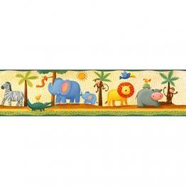 RoomMates 54299, Bordo adesivo per pareti cameretta, Multicolore (Bunt) - 1