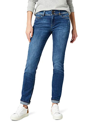 s.Oliver 04899713700, Jeans Donna, Amparo Blue Denim Stretch 55Z4, 46 W/30 L - 1