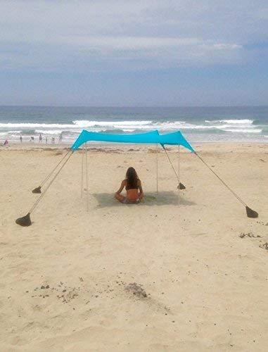 """Sand Anchor-Tenda da spiaggia con tettuccio parasole, 82"""" x 80"""" per portatile, diversi colori - 1"""