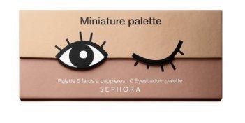 Sephora Collection Miniature Palette - Mini palette di ombretti tonalità biscotto - 3