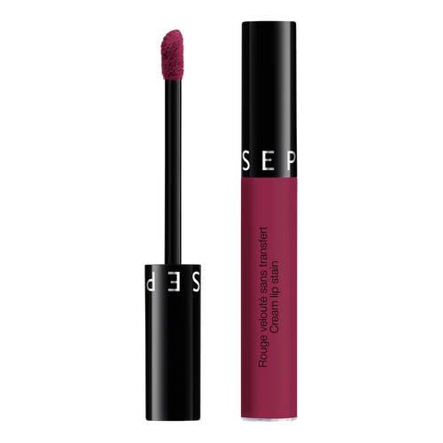 Sephora – Rossetto Cream Lip Stain No-Transfer Rosso effetto Vellutato – 16 Cherry Nectar - 1