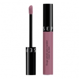 Sephora – Rossetto Cream Lip Stain No-Transfer Rosso Velluto – 35 Bohemian Purple - 1