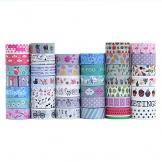 Set di 40rotoli di nastro washi tape, nastro adesivo decorativo per mestieri, abbellisce Bullet, diari pianificatori - 1