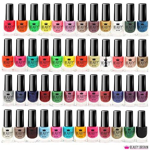 Set di 48 Smalti Per Unghie 48 Colori Diversi Moderna Bottiglia - 1