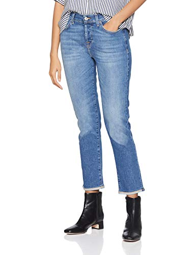 Seven for all Mankind International SAGL Asher Jeans Boyfriend Donna - 1