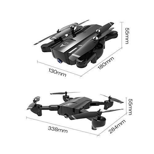 SG900-S 2.4G RC Drone pieghevole Selfie Smart GPS FPV Quadcopter con 1080P HD Camera Altitude Hold Seguimi One Key Return (Colore: Nero) - 1
