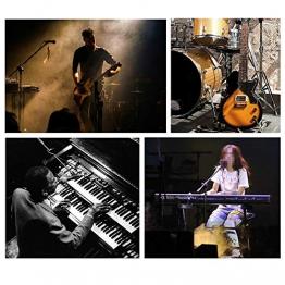 SH-Flying Pedale Universale per Sustain Pedale Elettrico per Pedale Sustain con Azione di Piano per tastiere, pianoforti digitali e Altro - 1