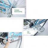 Shayson Bike Sedile Posteriore Set Accessori Bambino Sicurezza Bicicletta Sedile Posteriore Cuscino Bracciolo poggiapiedi Set per Ragazza Donna Uomo Bambino … (Bike Sedile Posteriore Set) - 1