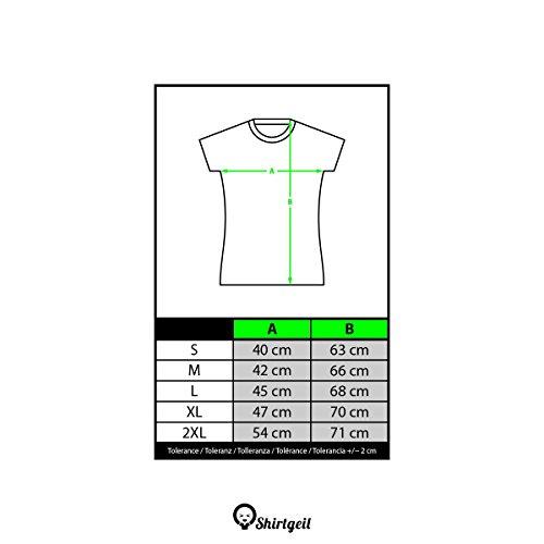 Shirtgeil Mamma Squalo - Idea Regalo per la Mamma Canzone Bimbi Maglietta da Donna Slim Fit XX-Large Nero - 1