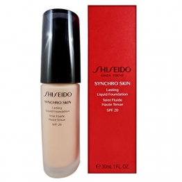 Shiseido - SYNCHRO SKIN Lasting Liquid Fondotinta Liquido Neutral 3, 30 ml - 1