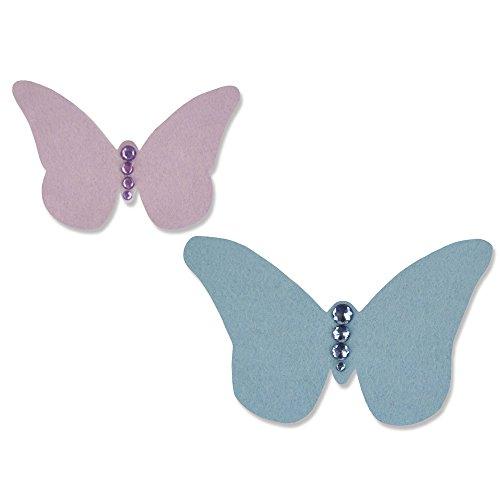 Sizzix 661075 Fustella Bigz Farfalla dell'Annata di Sophie Guilar, ABS Plastic, Multicolore, 17.4x13.9x2 cm - 1