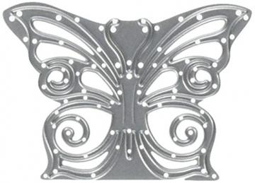 Sizzix 661876 Fustella Thinlits Decorazione Farfalla di David Tutera, Metal,, 17.8x9.3x0.2 cm - 1