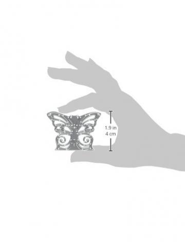 Sizzix 661876 Fustella Thinlits Decorazione Farfalla di David Tutera, Metal,, 17.8x9.3x0.2 cm - 3