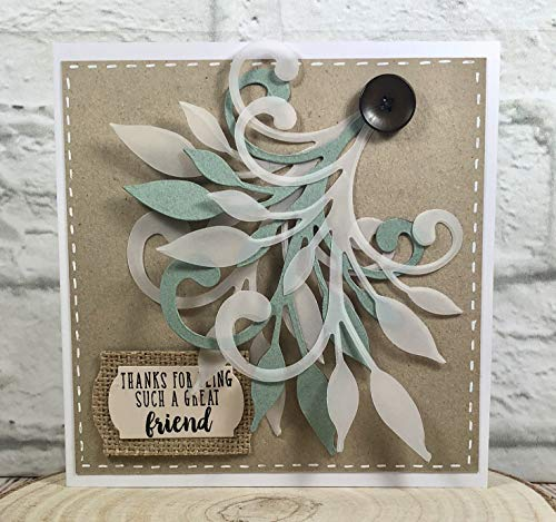 Sizzix 662505 Fustella Bigz-Vite Opulenta di Debi Potter, Plastica, Legna, Acciaio, 17.3 x 14 x 1.9 cm - 1