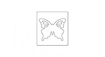 Sizzix Bigz BIGkick/grande Fustella-Butterfly #2 - 2