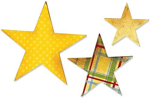 Sizzix Bigz Die Stars Fustelle a Stella - 1