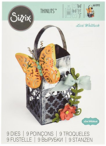 Sizzix, Butterfly Lantern, Decorazioni Ornamentali, 9 Pezzi - 1