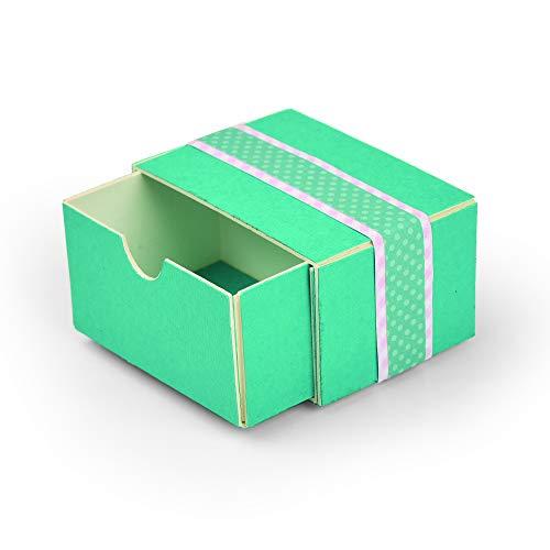 Sizzix Cassetto Impilabile Fustella, Multicolore, taglia unica - 1