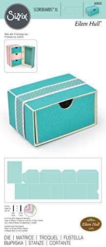 Sizzix Cassetto Impilabile Fustella, Multicolore, taglia unica - 2