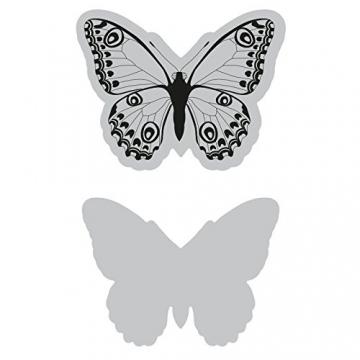 Sizzix Farfalla Selvaggia Fustella, Steel, Taglia Unica - 2