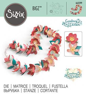 Sizzix Fustella Bigz Ghirlanda Tropicale by Courtney Chilson - 3