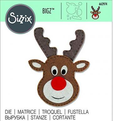 Sizzix Fustella Bigz Renna, Multicolore, Taglia Unica - 3