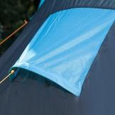 Skandika, Hammerfest, tenda per famiglie, 4 persone, tenda a cupola, con 2cabine di riposo, altezza in piedi 200cm, Unisex, 4500, blu chiaro/scuro, Taglia unica - 1