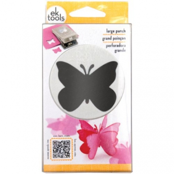 "Slim Paper Punch Extra Large-Butterfly Approx. 1.75"" - 1"