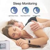 Smartwatch Impermeabile Uomo,GOKOO Orologio Sportivo Uomo Donna Impermeabile IP67 Attività Tracker Cardiofrequenzimetro Monitor del Sonno 8 Modalità di Allenamento per Telefoni Android IOS - 1