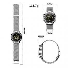 Smartwatch Orologi intelligenti Bluetooth fitness Tracker intelligente Orologio con pedometro cronometro per uomini donne telefoni Android iOS compatibili - 1