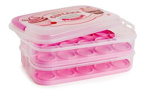 Snips - Contenitore o Porta Cupcake, in Polipropilene, 1,4 Litri - 1