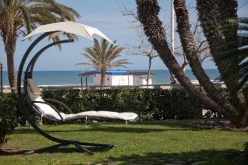 SoBuy® Amaca Extra Lusso Relax da Giardino,Lettino Prendisole, Poltrona a Dondolo, OGS16.IT - 4