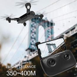 SODIAL SG900-S Quadcopter Pieghevole 2.4GHz HD Drone Quadcopter WiFi FPV Droni GPS a Punto Fisso Rc Elicottero Drone con Fotocamera, 1080P - 1