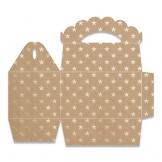 Spellbinders-Fustella decorativa, motivo: Party Box-Fustella, in metallo, colore: grigio - 1