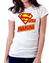 t-Shirt Super Mamma - Donna - Regalo per la Mamma - Maglietta by tshirteria - 1