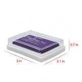 Tampone di Inchiostro, Mture 12 colori tampone inchiostro per timbri timbro cuscinetto inchiostro per fai da te e uso su carta,legno,tessuti - 1